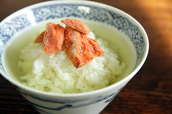 Рис с чаем