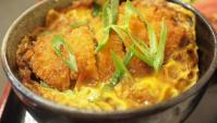 Кацудон - миска риса с тонкацу