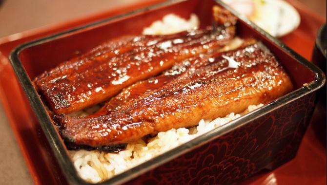 Унаги Донбури - жареный угорь с рисом