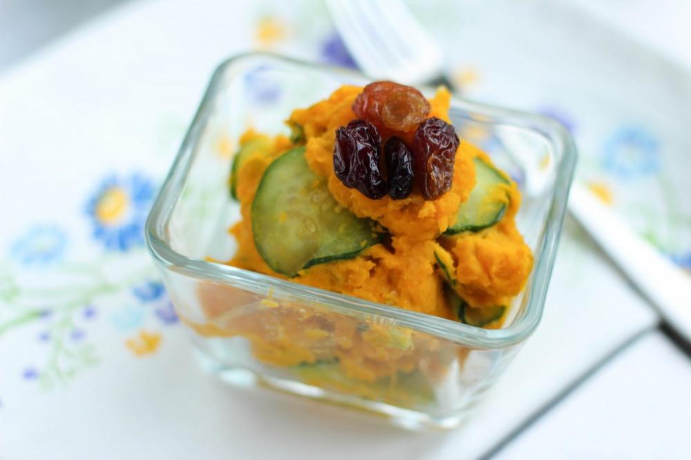 салат из тыквы и огурцов рецепты
