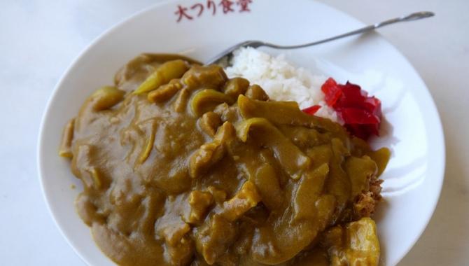 Японский Карри-рис с котлетой из свинины в магазине БОЛЬШАЯ РЫБАЛКА