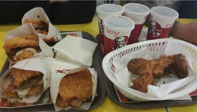 Южная Корея выпустила рекордный Гамбургер KFC