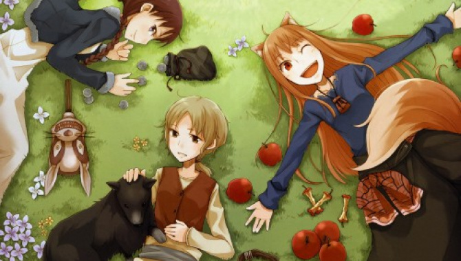 Вкус осени - еда из аниме Spice and Wolf