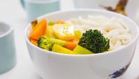 Вегетарианский Карри Удон - пошаговый рецепт