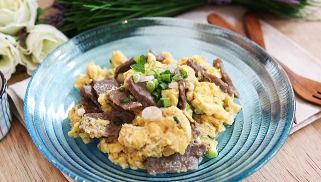 Омлет с говядиной - пошаговый рецепт