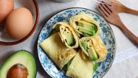 Яичные суши с авокадо - пошаговый рецепт