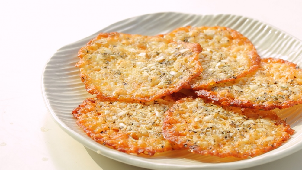 как приготовить сырную чипсу