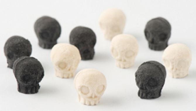 Японский мини-пресс для черепов из сахара на Хэллоуин!