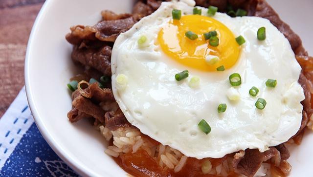 Миска риса с говядиной - пошаговый рецепт