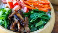 Вегетарианский Тираси Дзуси - Пошаговый рецепт