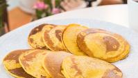 Кукурузные оладья - пошаговый рецепт