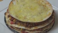 Пирог с говяжьими тортильями (Мексиканская лазанья) - Видео-рецепт