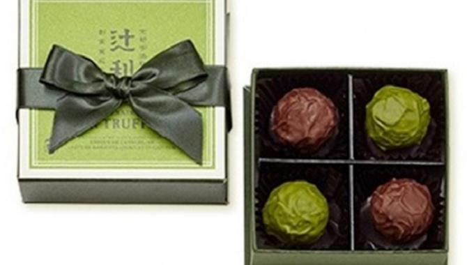 Отличный шоколад - Премиум Зеленый Чай из Киото!