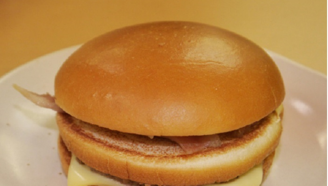 МакДональдс выпустил новый гамбургер на Хоккайдо