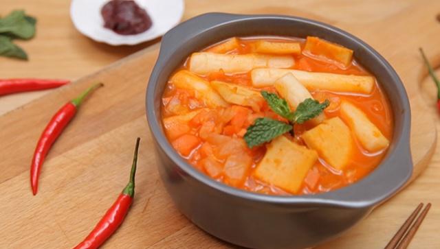 Корейские рисовые лепешки с сыром - пошаговый рецепт
