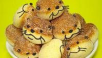 Как сделать симпатичные пончики с мордашками выдр?!