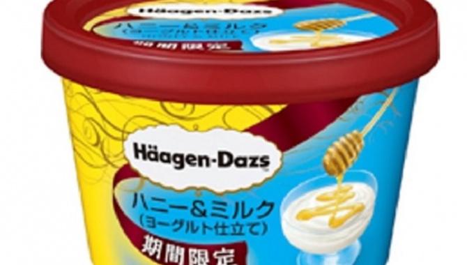Новое мороженое Haagen-Dazs со вкусом йогурта и меда!