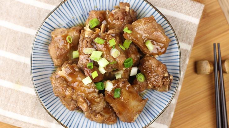 Свиные ребрышки в кисло-сладком сливовом соусе - пошаговый рецепт