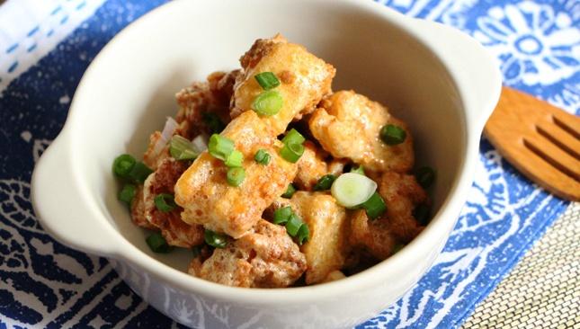 Золотистый Тофу - пошаговый рецепт