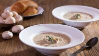 Сливочный Суп с курицей и грибами - пошаговый рецепт