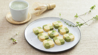 Печенье с матча - пошаговый рецепт