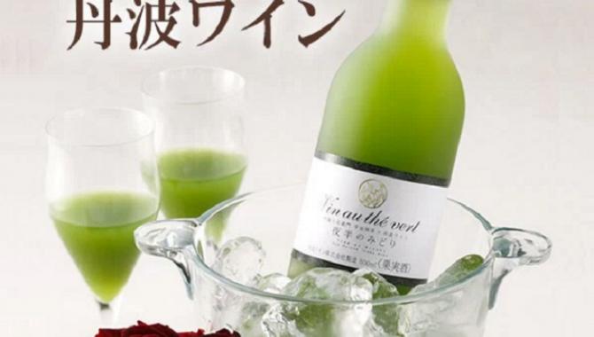 Вино со вкусом Зеленого Чая!