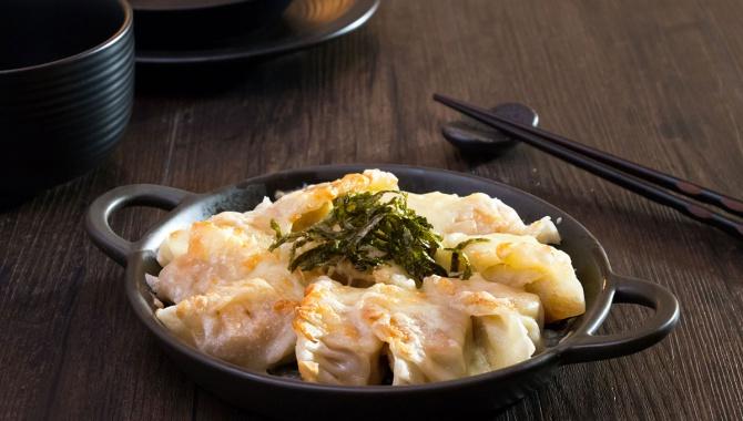 Жареные пельмени с сыром - Пошаговый рецепт