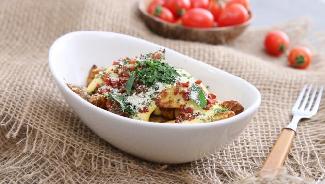 Картофель с сыром и беконом - пошаговый рецепт