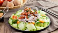 Свинина с кунжутным соусом - Видео-рецепт