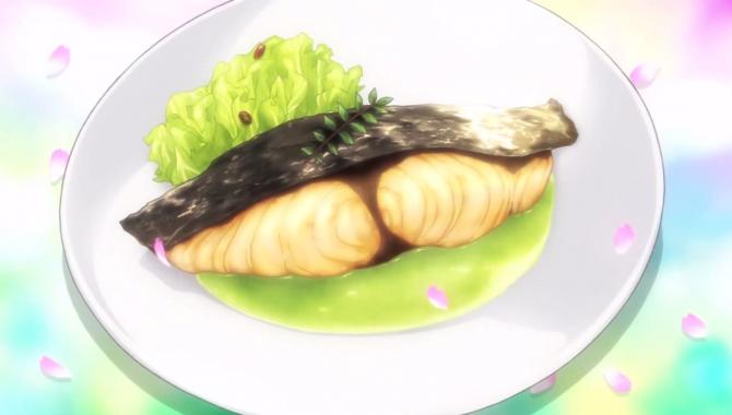Испанская макрель с пюре из капусты из аниме - Повар-боец Сома (Shokugeki no Souma) - Рецепт