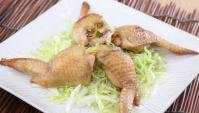 Куриные крылышки со стеклянной лапшой - пошаговый рецепт