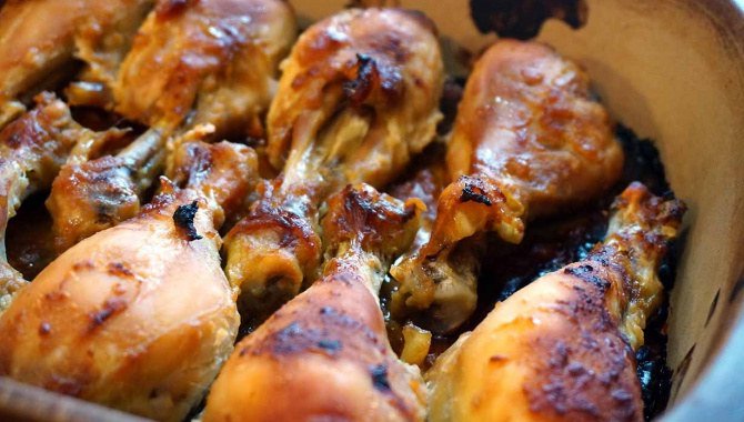 Запеченная курица с сио кодзи - Рецепт