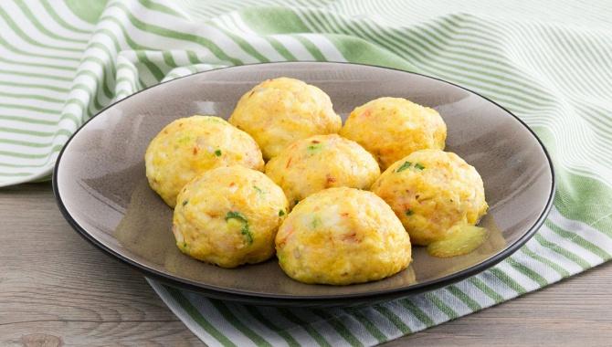 Шарики из тофу и креветок с сыром - пошаговый рецепт