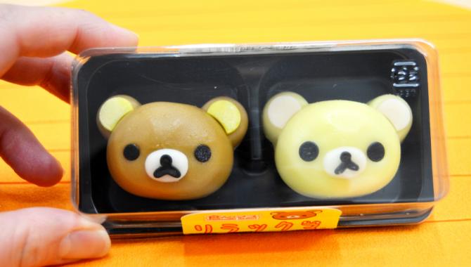 Магазины Lawson начинают продажи десертов Rilakkuma в форме традиционного японского кондитерского изделия!