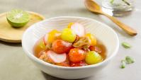 Помидоры Черри со сладкими сливами - пошаговый рецепт