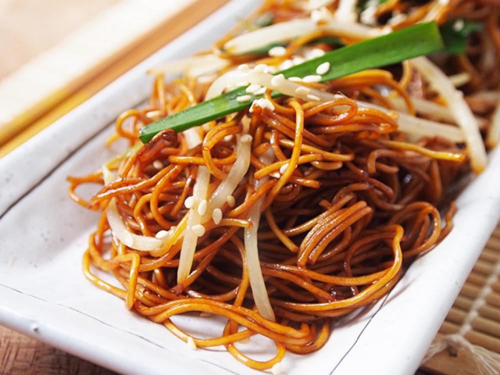 Китайская лапша с соевым соусом рецепт