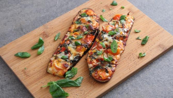 Баклажанная пицца - пошаговый рецепт