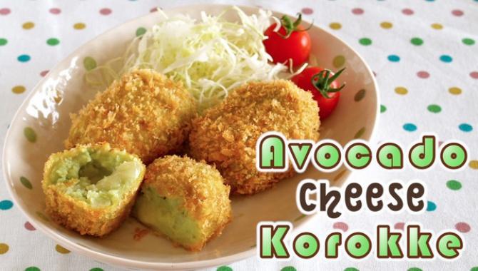 Короккэ с сыром и авокадо - Рецепт