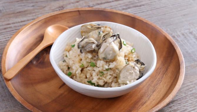 Рис с устрицами - пошаговый рецепт