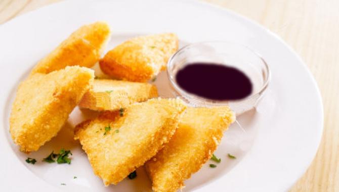 Сыр фри рецепт ♥ Жареный сыр во фритюре