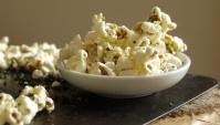 Сладко-соленый попкорн с водорослями нори - Рецепт