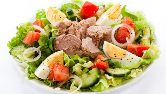 Салат с тунцом ♥ ФИТНЕС-РЕЦЕПТЫ ♥ Правильное питание
