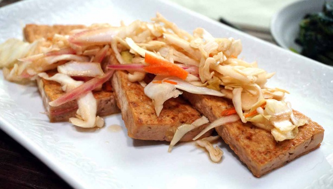 Маринованный тофу Нанбан - Рецепт