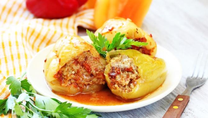 Перец фаршированный по-домашнему рецепт