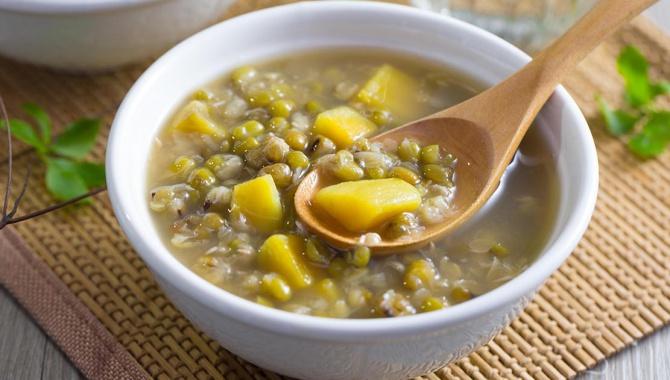 Суп со сладким картофелем и зелеными бобами - пошаговый рецепт