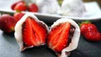 Итиго Дайфуку - моти с клубникой - Рецепт