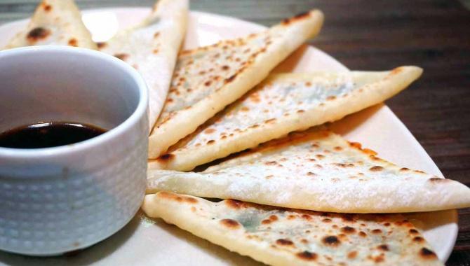 Мини лепешки с сыром - Рецепт