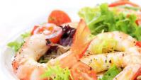 Салат с креветками рецепт ♥ Салат из морепродуктов