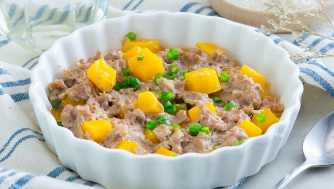 Свинина на пару с тыквой и сио кодзи - пошаговый рецепт