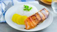 Жареный лосось с пастой мисо и сио кодзи - пошаговый рецепт